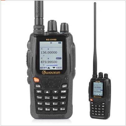 Wouxun KG-UV8D 2m/70cm VHF/UHF Crossband Dualband Hand-Funkgerät Farbdisplay 89,99 €