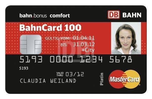 [lokal Freiburg] BahnCard100 für 354,46 statt 379€ monatlich
