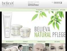 Believa Natural Intensiv Pflegecreme Gratis-Probe