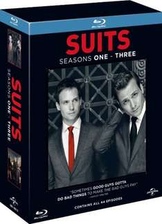 [amazon.uk] Suits - Series 1-3 [11 x Blu-rays] inkl. Vsk für ca. 44,35 €