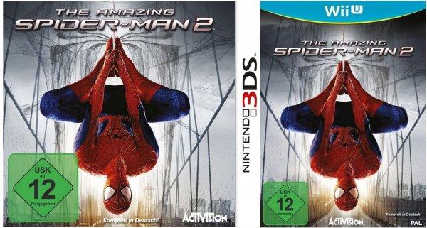 Nintendo Wii U & 3DS - The Amazing Spider-Man 2 ab €15.- [@Media-Markt.de]