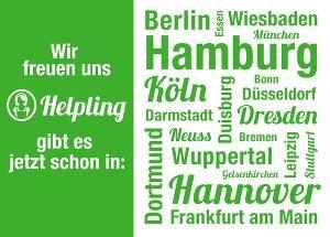 Reinigungskraft für 3 Stunden - 16,35€ @Helpling.de