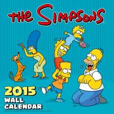 Simpsons Kalender 2015 für 7,86€ @ Amazon.de
