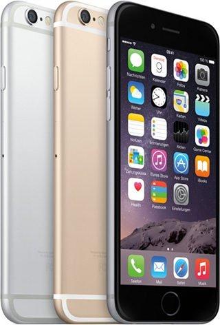 IPhone 6 16GB alle Farben für OTTO-Neukunden für 654,05€ inkl.VSK / 64GB für 749,05€
