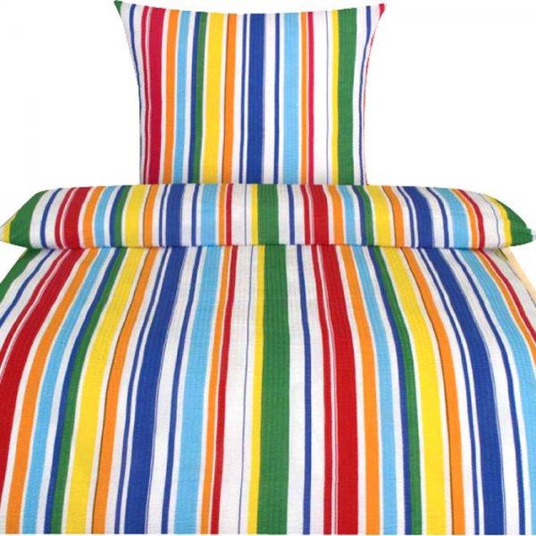 """@Karstadt.de: Labanny Seersuckerbettwäsche """"Streifen"""", mehrfarbig, 135x200 für 10€ bei Abholung"""