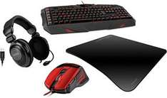 Speedlink Bundle(Headset 5.1, Gaming Maus und Gaming Tastatur)
