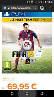 FIFA 15 Ultimate Edition