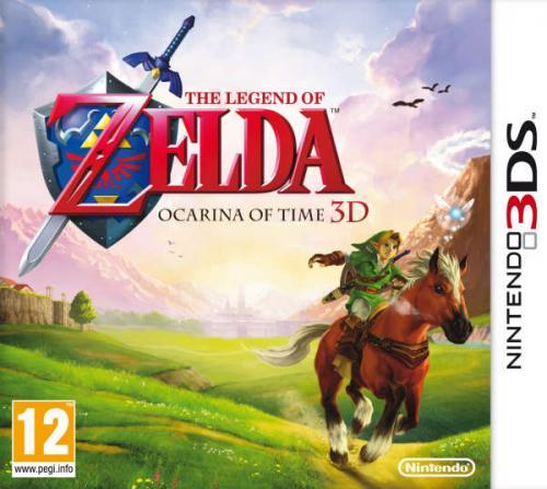 The Legend Of Zelda: Ocarina Of Time Nintendo 3DS the hut