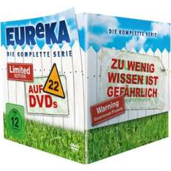 Eureka - Die geheime Stadt - Die komplette Serie. Bei media markt für 44,99 inkl versand
