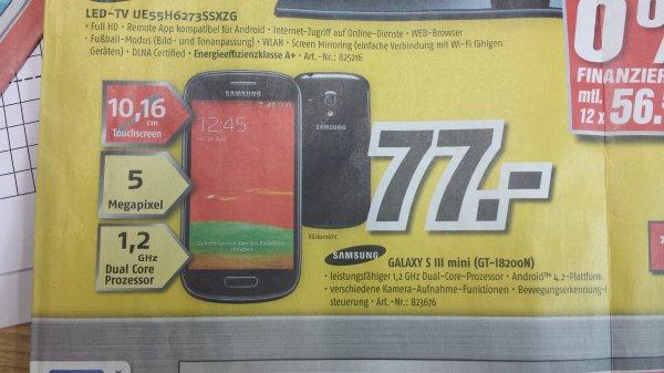 [Lokal-Oranienburg] Galaxy S3 Mini (GT-I8200N) bei Medi Max