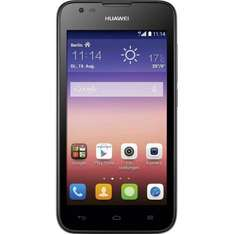 Huawei Ascend Y550 (LTE, 4,5 Zoll IPS, 1,2 GHz Quad-Core, 5 MP, Android 4.4) für 129€ @Media Markt