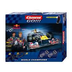 Carrera GO !!! Red Bull Racing Modell 20062278 38,85Euro @Favorio