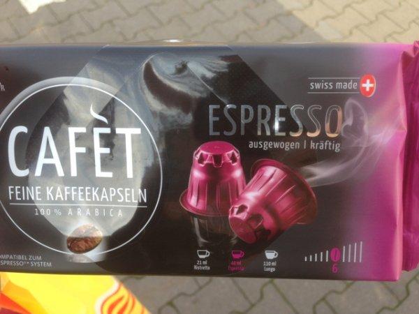 Nespresso-Kapseln von Netto (ohne Hund) stark reduziert