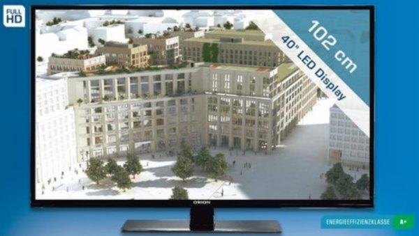 "[lokal - SATURN Berlin + Potsdam] ORION 40"" Fernseher ""CLB40B960S"" - 199 Euro - Full HD - Triple HD Tuner"