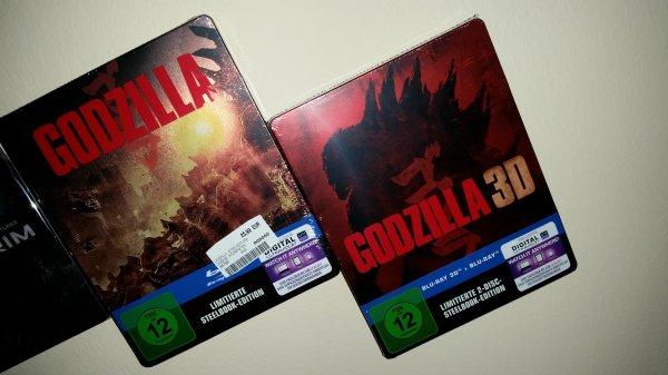 Godzilla Blu Ray Steelbook Limited Saturn + Media Markt Erlangen