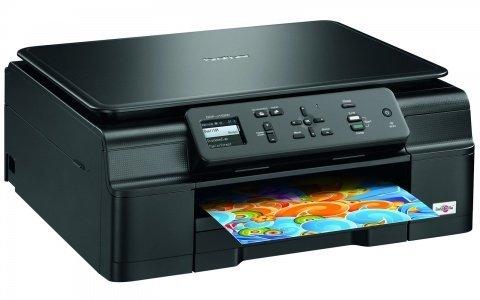 Brother DCP-J132W Tintenstrahl-Multifunktionsgerät (A4, Drucker, Kopierer, Scanner, Netzwerk, WLAN, USB) für 74,13 € @Amazon.it