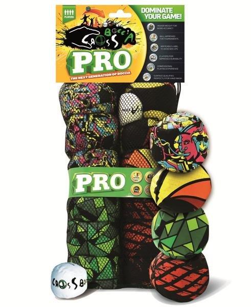 Crossboccia Familypack Pro, 4x3er Set für 4 Spieler, für Thalia Neukunden nur 22,40 €, sonst 27,99 €