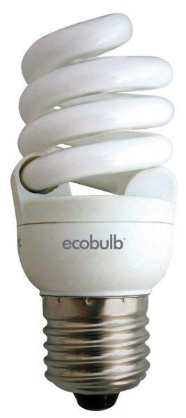 4er Set: Ecobulb Energiesparlampe von 8 bis 12 W E27 220-240 V warmweiß ohne Quecksilber für 14,90€ frei Haus [3% Qipu]