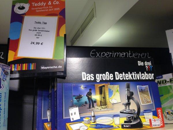 [Aachen/online] Die drei ??? - Das große Detektivlabor für 24,99 / 33,94 idealo: 42,94