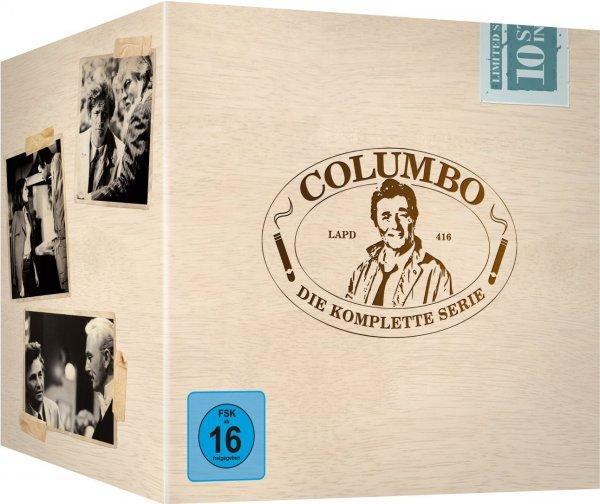 Columbo - Die komplette Serie (DVD) für 56€ @Thalia Neukunden