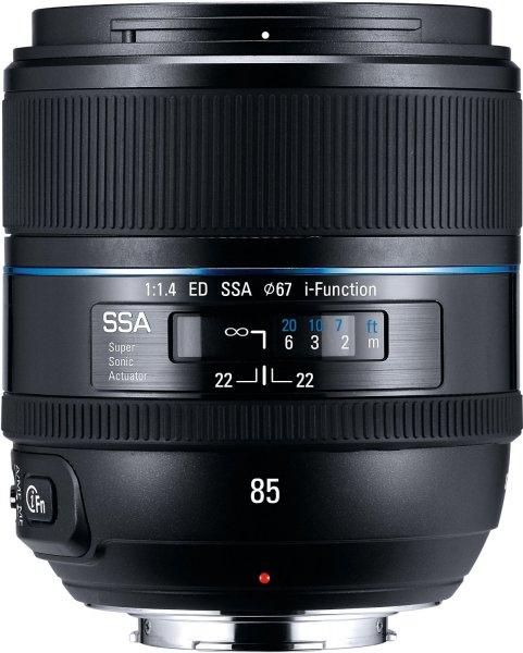 Samsung 85mm f1.4 ED SSA (EX-T85NB) für 493€ @Amazon.it