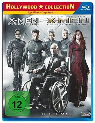 [amazon.de Prime] X-Men Doppel (Erste Entscheidung und Zukunft ist Vergangenheit) als Bluray Pack für 20,34€ Lieferbar zum 02.10.14 (Erscheinungstag ZiV)