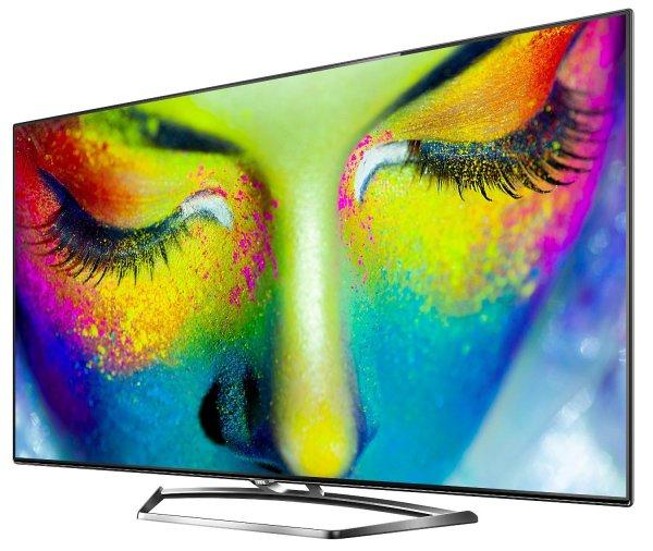Amazon Blitzangebot: TCL U55S7606DS 139 cm (55 Zoll) LED-Backlight-Fernseher, EEK A+ (3D, Ultra HD, 200Hz CMI, DVB-T2/C/S2, CI+, 3x HDMI, 3x USB 2.0, Smart TV, HbbTV, WLAN) inkl. 2x Aktiv-3D-Brille silber/schwarz inkl. Versand