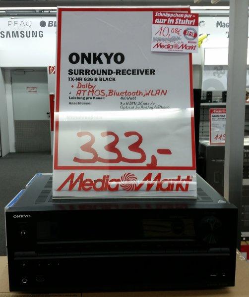 [Lokal MM Bremen/Stuhr] Onkyo TX-NR636 7.2-Kanal AV-Netzwerk-Receiver