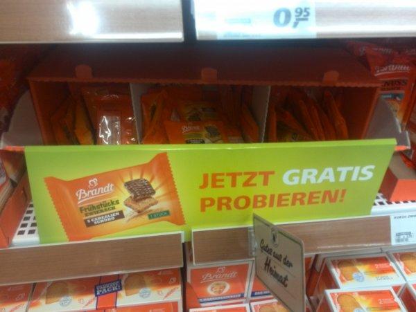 Brandt Frühstückszwieback gratis bei REAL