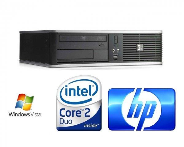 HP DC7900 SFF Intel Core2Duo E7300 (2x 2,66Ghz), 80GB HDD, 4GB RAM, DVD, Vista für 69 EUR inkl. Versand