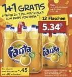 LIDL: Fanta Sixpack 2für1 = 0,36 € pro Liter