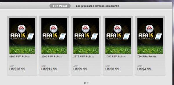 [Origin Mexico] Fifa Coins 2200 Stck. für $12.99/10,52€ statt 19,90€