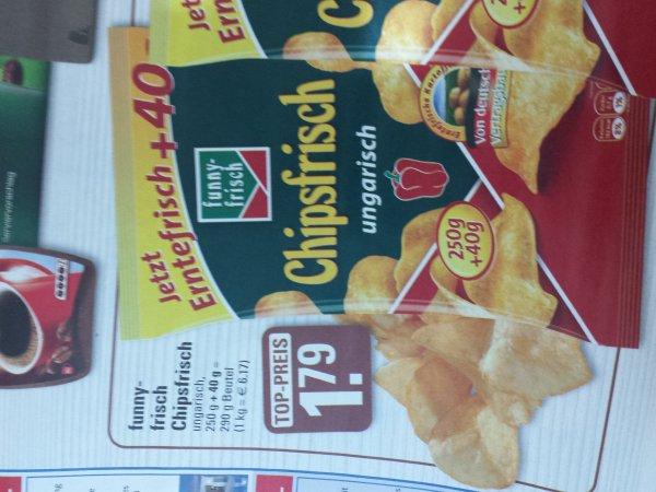 funny frisch chipsfrisch 290gr ungarisch @edeka