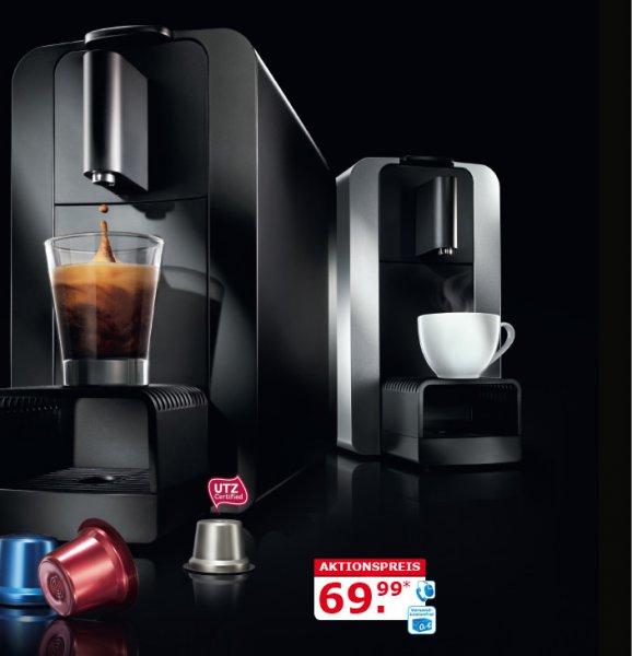 [Netto] cremmesso Compact One Kapsel Kaffee- und Teemaschine