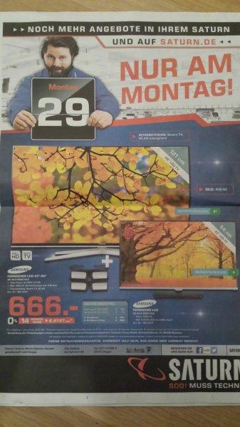 [Lokal Siegen] Saturn Samsung UE48H6600 + Samsung UE22H5000 am 29.09.2014