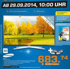 "Samsung UE50H6470 Smart TV 3D 400Hz für 683,74€ ""Lokal"" @ Saturn Neuss"