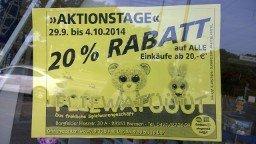[Bremen Borgfeld] 20% auf Spielwaren bei Fliewatüüüt