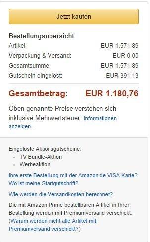[Amazon Blitzdeal] Samsung UE55HU7200 für 1180,76€ (noch 2 Stunden gültig)