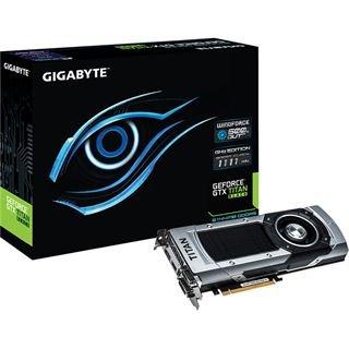 6144MB Gigabyte GeForce GTX Titan Black GHz Edition WindForce 3X Aktiv PCIe 3.0 x16 (Retail)@Mindfactory /Mindstar