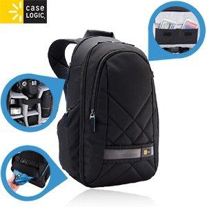 CASELOGIC CPL-108 schwarzer DSLR-Kamerarucksack mit iPad-Fach 25 Jahre Garantie! 35,90€ inkl. Versand / Idealo ab 70,90€