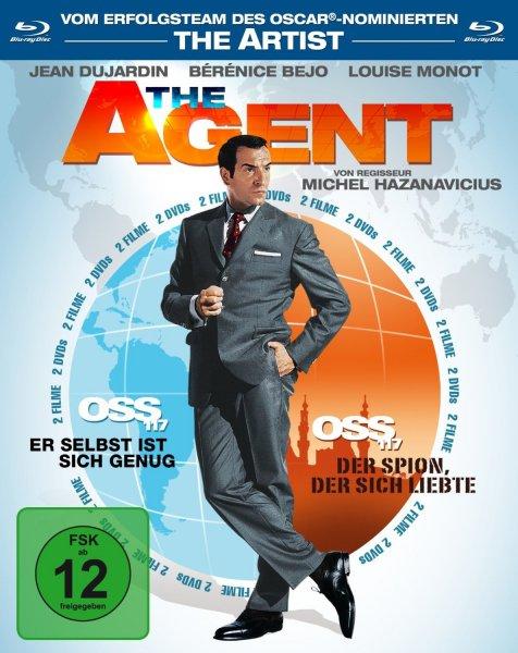 [amazon.de PRIME] The Agent - OSS 117, Teil 1 & 2 (2 Blu-rays) (+3,- EUR Versand)