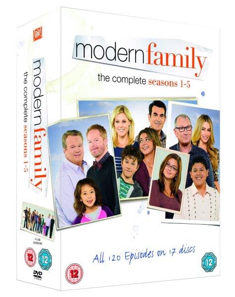 Modern Family - Season 1-5 [DVD] bei amazon.co.uk