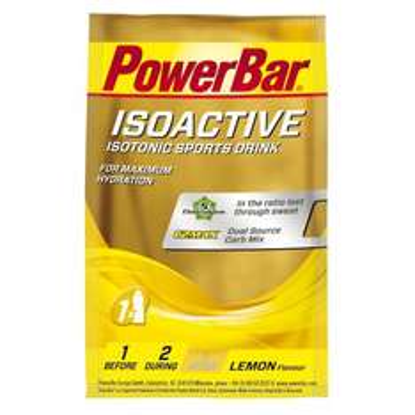 [Preisfehler auf Amazon] PowerBar Isoactive Single Serves Lemon 20 Stück, 1er Pack (1 x 660 g) 1,15 € + Vsk (ab 20€ ohne) - 2 Sorten!