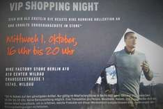 30% VIP Shopping Nike Factory Store Berlin A10 Center