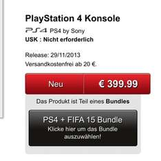 Playstation 4+Fifa15
