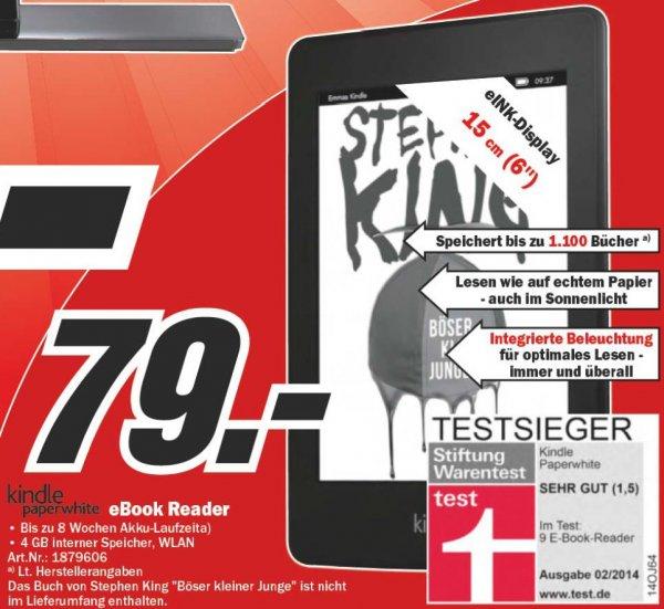 [MediaMarkt Berlin&BB] Kindle Paperwhite WLAN 79€ // verfügbar!
