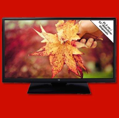 """Penny -> DUAL 81,3-cm-/32""""-LED-TV LE32F160P3 für 199,00€"""