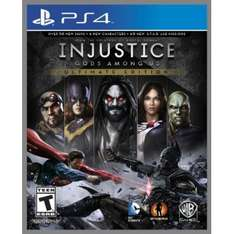 Injustice: Götter unter uns - Ultimate Edition (PS4) 19,62€ @Play Asia