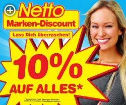 NETTO (MD) - Verkaufsoffener Sonntag 05.10.2014 - 10 % auf alles! [Lokal in Lingen (Ems)]