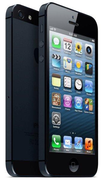 eBay: Apple iPhone 5 - 16 GB - Schwarz und Graphit (Ohne SIM Lock) Smartphone neuwertig @ 359 inkl. Versand